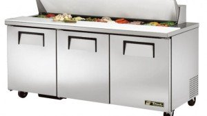 True prep table refrigerator repair